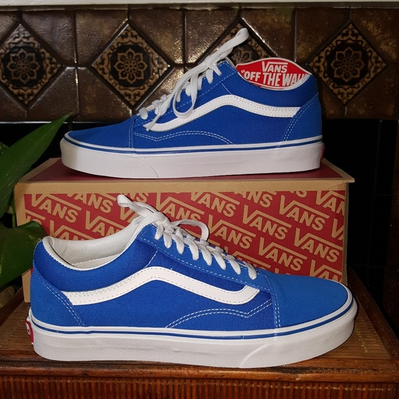 c7d59c5a0f72 Old Skool Suede Canvas Imperial Blue